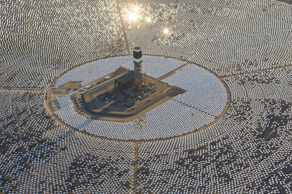 Ivanpah solar generation facility