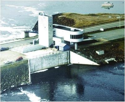 Annapolis Royal Tidal Generating Station.